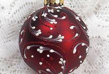 Julkulor och dekorationer