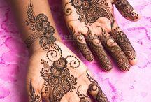 Aneesa Karim - Mehndi Artist / Featuring the original henna works of Trinidadian artist Aneesa Karim