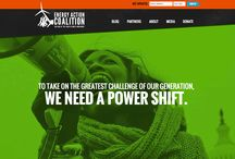 Awesome Nonprofit Websites / Examples of awesome nonprofit websites along with some tips on how to improve your site. / by Salsa