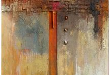 Art: Mixed Media, Assemblage, Encaustic, Etc. / by David Landry