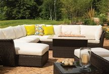 Outdoor L-Shaped Sectionals / Collection of L-shaped Sectionals that are great to use in  outdoor spaces.