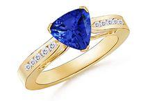The Trillion Tanzanite Ring