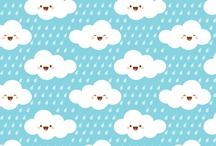 Estampas Clouds & Drops