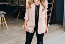rosa blazer kombinieren