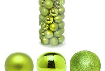 Mint & Green Christmas Ornaments