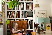 Books at Home / Books make a house a home!
