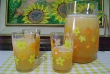 Bebidas (Drinks) / Una refrescante bebida para el calor.