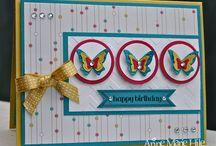Cards - Butterflies & Bird Cards