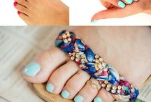Ankle Bracelets & Toe Rings