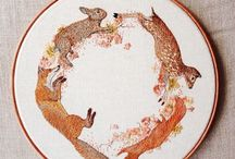 embroidery patterns / by Janet DeMars