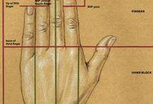 dibujo de manos