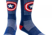 Superhero Socks / Shop for your favorite superhero on a pair of socks! / by SimplySuperheroes.com