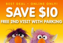 Monstrous Tips and Savings / Want to know how Sesame Place began? Do you want to #save on admission? Follow this board and you can find out the secrets to our Monstrous #Tips and #Savings at #SesamePlace / by Sesame Place