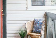 Home Inspiration: Porch / Porch Inspiration / by Cassie Bustamante (Primitive & Proper)