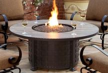 Outdoor Fire Pits - Propane / Fire Pits that Out on the Patio carries in our store.  We have fire pits from OW Lee, Patio Renaissance and Vindeflame.