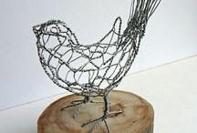 kyllingenet og ståltråd