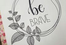my brush lettering