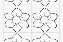 Dekorgumi Virágok