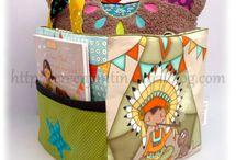 My work  : Illustrations on fabric  / Mes Coupons Illustrés / Mes illustrations sur tissus en vente chez http://www.linnamorata.com/