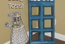 Library Doctor Who Program / Ideas for crafts, activities, snacks for Doctor Who event for teens and kids.
