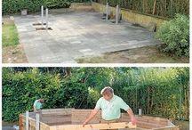 Ein Swimmingpool  im eigenen Garten