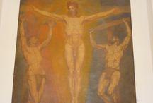 Emile Fabry / Émile Bartelemy Fabry né à Verviers le 31 décembre en 1865, mort à Woluwe-Saint-Pierre (Bruxelles) en 1966. Peintre belge du mouvement symboliste.