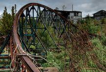 Abandoned Amusement Parks / by Kimberly Hamner
