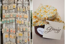 Escort / Place Cards / by Chris @ Postcards & Pretties