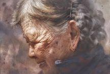 """Chen - Wen Cheng ( Taiwan). Pictor realist, acuarelă. / Finalist al Watercolor World Competition ( Franța ) și câștigător al Premiului de Aur pentru capodopera sa """" Loving Mama """". Unele dintre piesele sale principale devin colecția muzeelor naționale și universități."""