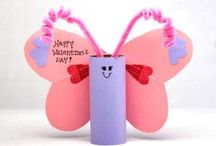 Valentine's day crafts / by Dana Patterson