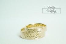 wedding bands/rings