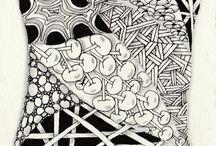 Zentangles / Zentangle designs that I like