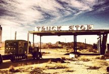 Old Truck Stops / by Paul Berry