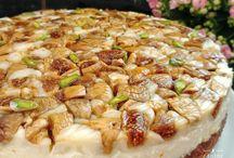 İncirli karamelli pasta