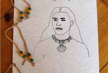Squanto Native American Indian Coloring Book / The story of Squanto for children to color