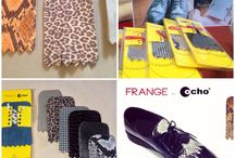 Frange by Ochobags / Customize your shoes with countless  removable fringes...