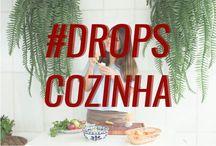 DROPS COZINHA / As receitas mais gostosas você encontra aqui! #DropsCozinha #Recipe #Cooking  www.dropsdasdez.com.br/tag/ drops-cozinha/