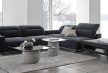 Metropolitan mood / Combining just the right pieces of furniture with the right colours is what makes the metropolitan look. Choose sophisticated colours like green and gold and pair it with sensuous materials like leather and marble to get that international, sophisticated style and bring a sense of luxurious city living into your home.