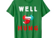 Funny Well Hung / This board is for all people who loves celebrate christmas well hung