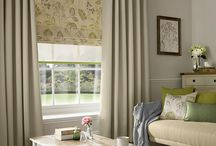 Roman Blinds / Roman blinds offer that modern alternative to curtains; all are fully lined, with an option of blackout lining.  Scallops and rings are available on request.  We will even create a blind using your own fabric!