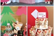 Party idea Red Riding Hood