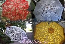 crochet umbrella