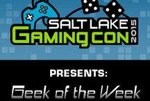 SLGC: Geek of the Week 2015 / Salt Lake Gaming Con Presents: GEEK OF THE WEEK—Do you think that you're the biggest geek in Utah? Prove it! Every Thursday we will be showcasing an outstanding geek on our page.  Visit our Facebook page for more information at http://goo.gl/eCGmQI.