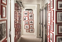home - hall / coats & linens / by Heather Chambers