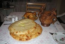 Ossetian - Circassian traditional foods, I love all !!!