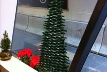 Locsolótömlő karácsonyfa