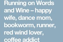 {Running on Words and Wine} / Blog about books, running, family and fashion