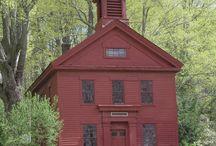 Old schoolhouse / Old schoolhouses.....
