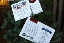 Recovery Pledge Postcards