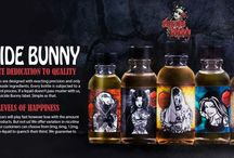 Suicide Bunny E Juice / Suicide Bunny E Juice is an another popular Herbal E Liquid. Follow our boards to make review best e liquid products.